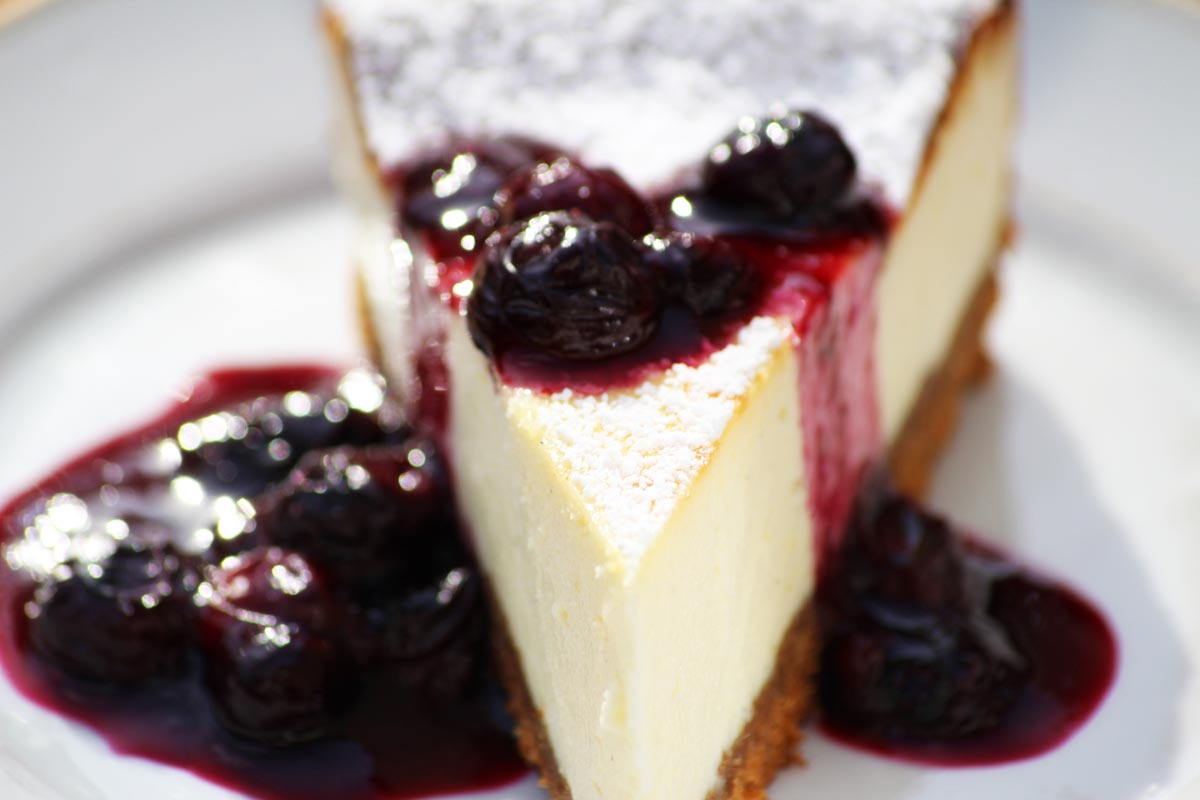 New York Vanilla Cheese Cake